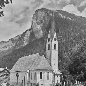 Au, Pfarrkiche St. Leonhard / Franz Beer von Beer, Franz