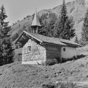 Au, Vorsäß Boden, Kapelle St. Michael / Franz Beer von Beer, Franz