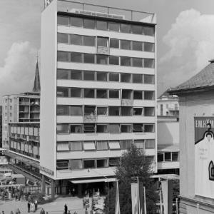 Dornbirn, Dornbirner Messe, Messehochhaus / Franz Beer von Beer, Franz