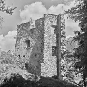Hohenems, Ruine Alt-Ems / Franz Beer von Beer, Franz
