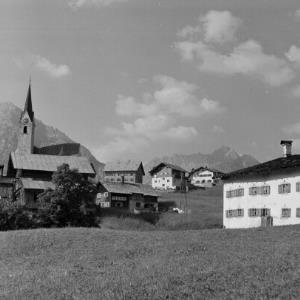 Mittelberg, Kirche St. Jodok / Franz Beer von Beer, Franz