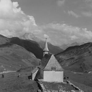 Warth - Hochkrumbach, Kapelle St. Jakobus / Franz Beer von Beer, Franz