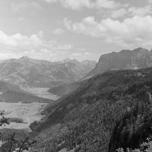 Blick auf den Hinteren Bregenzerwald / Franz Beer von Beer, Franz