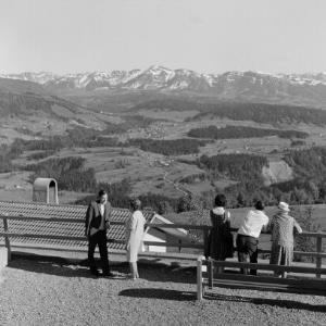 Blick von Sulzberg in den Bregenzerwald / Franz Beer von Beer, Franz
