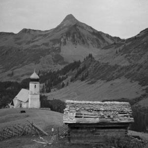 Damüls, Kirche St. Nikolaus / Franz Beer von Beer, Franz
