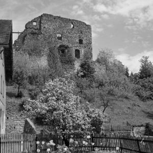Schlins, Ruine Jagdberg / Franz Beer von Beer, Franz