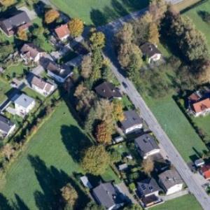 Altach - Grenze Hohenems Schwefel, Blick Lustenau von Amt der Vorarlberger Landesregierung Abteilung Raumplanung
