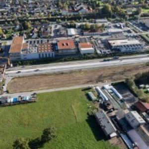 Bludenz - Bürs, Walgauautobahn A14 von Amt der Vorarlberger Landesregierung Abteilung Raumplanung