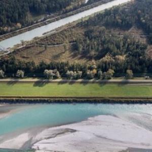 Feldkirch, Rhein, Ill, Grenze Meiningen von Amt der Vorarlberger Landesregierung Abteilung Raumplanung