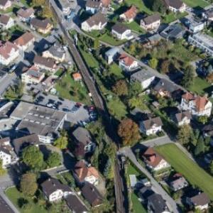 Feldkirch-Altenstadt, Reichsstraße, VW Koch, Gleisanlage von Amt der Vorarlberger Landesregierung Abteilung Raumplanung
