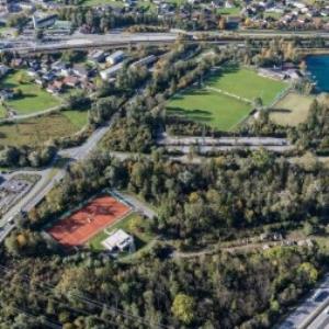 Frastanz - Tennisplatz, Marmorwerk Prenn, Fußballplatz, Naturbad Untere Au von Amt der Vorarlberger Landesregierung Abteilung Raumplanung