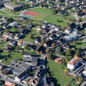 Klaus, Mittelschule Klaus-Weiler-Fraxern von Amt der Vorarlberger Landesregierung Abteilung Raumplanung