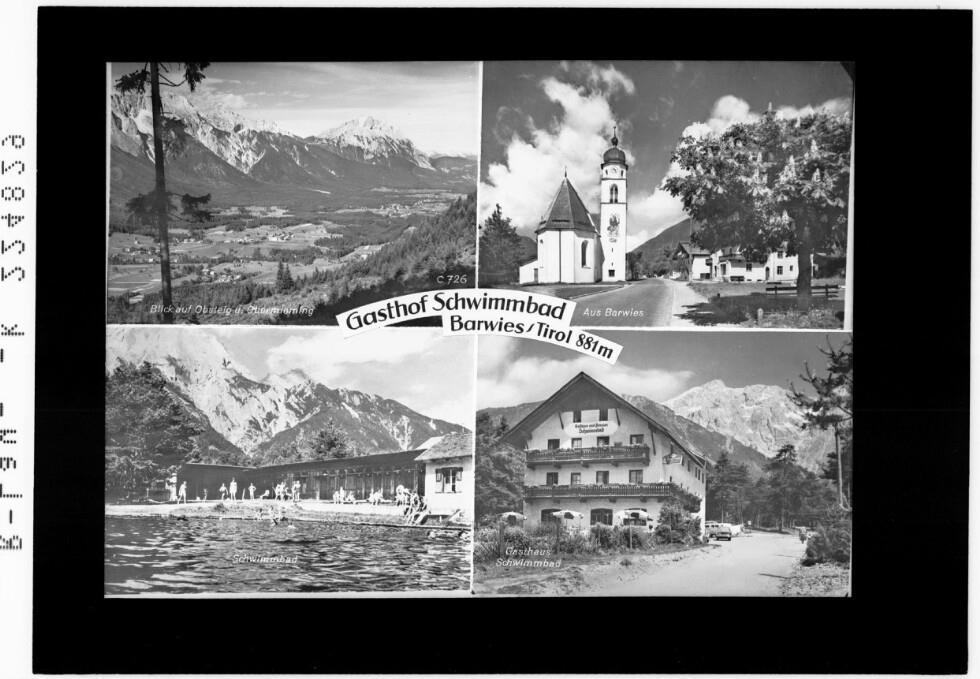 Gasthof Schwimmbad / Barwies / Tirol 881 m