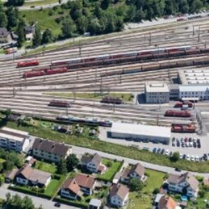 Bludenz - Gleisanlagen von Amt der Vorarlberger Landesregierung Abteilung Raumplanung