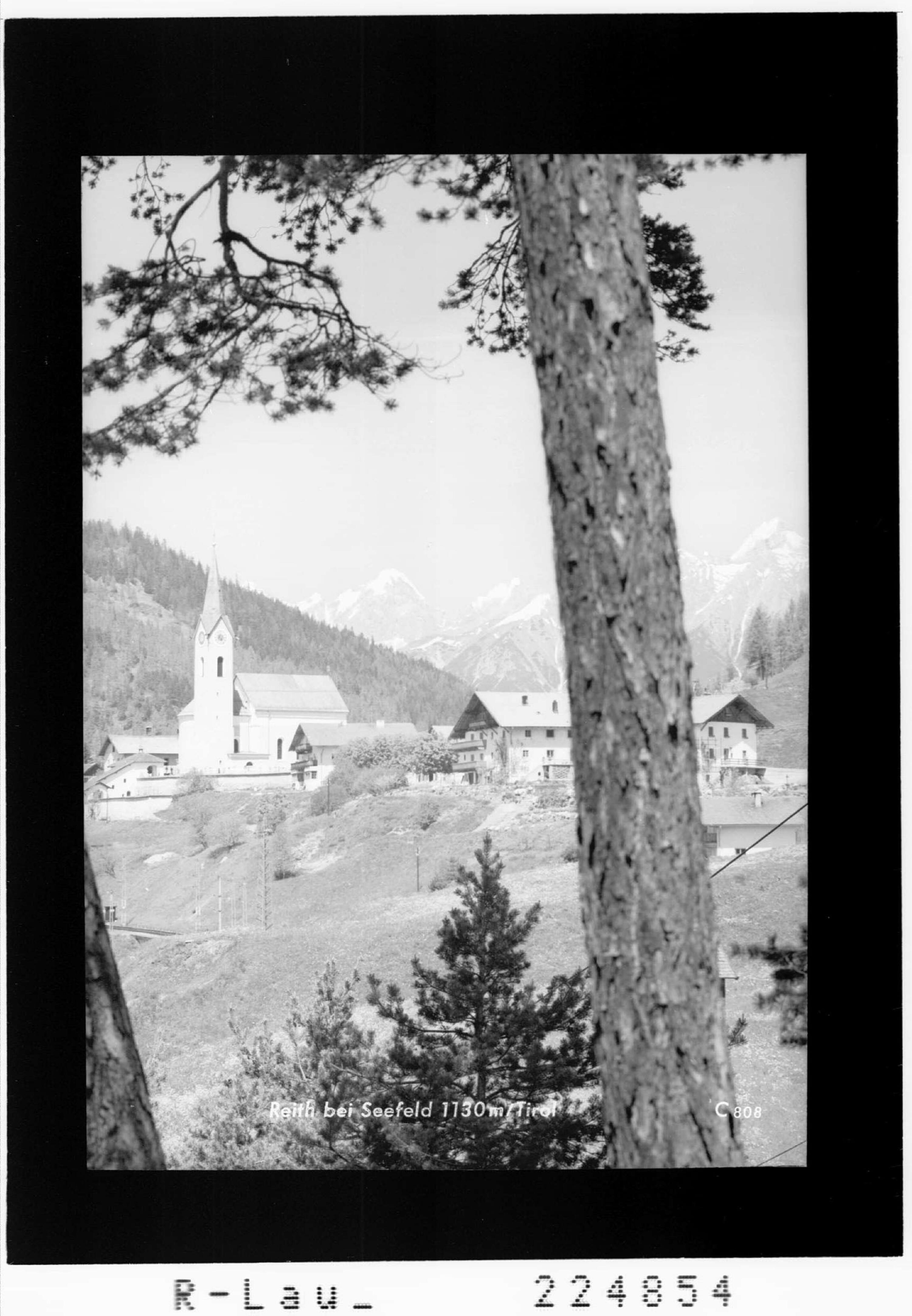 Reith bei Seefeld 1130 m / Tirol von Wilhelm Stempfle