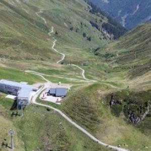 St. Gallenkirch - Grasjochbahn, Bergstation von Amt der Vorarlberger Landesregierung Abteilung Raumplanung