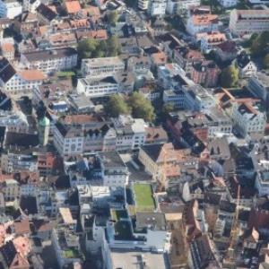 Bregenz - Stadtzentrum von Amt der Vorarlberger Landesregierung Abteilung Raumplanung