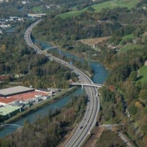 Frastanz - Müroll, Frastanz - Marmorwerk Prenn, Walgauautobahn von Amt der Vorarlberger Landesregierung Abteilung Raumplanung