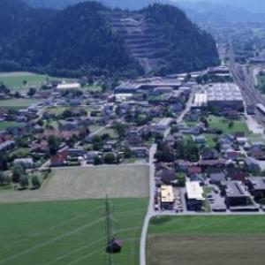 Ludesch - Unterfeld, Betriebsgebiet Hängender Stein von Amt der Vorarlberger Landesregierung Abteilung Raumplanung