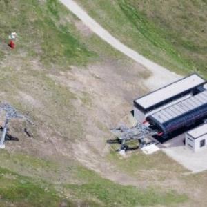 St. Gallenkirch - Garfreschner Älpili, Jöchle Lift Talstation von Amt der Vorarlberger Landesregierung Abteilung Raumplanung