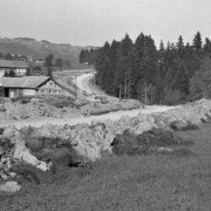 Straßenbau zwischen Krumbach und Langenegg / Oskar Spang von Spang, Oskar
