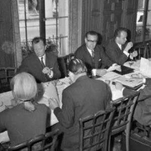 Finanzminister Wolfgang Schmitz zu Besuch in der Nationalbank in Bregenz / Oskar Spang von Spang, Oskar