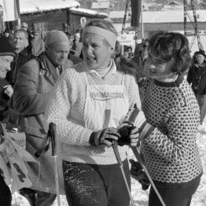 Skirennen in Kitzbühel / Oskar Spang von Spang, Oskar