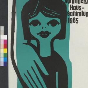 Plakat zur Kinderdorf Vorarlberg Haussammlung 1965 / Josef Hofer ; Kinderdorf Vorarlberg von [Hersteller nicht ermittelbar]