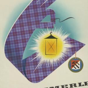 Werbeplakat des Textilunternehmens F. M. Hämmerle / Othmar Motter, Vorarlberger Graphik ; Textilwerke F. M. Hämmerle, Dornbirn von Josef Eberle