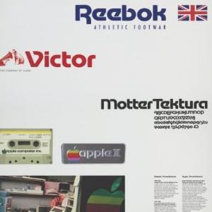 Werbeplakat für die Schriftart Motter Tektura / Othmar Motter, Vorarlberger Graphik von [Hersteller nicht ermittelbar]