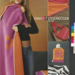 Werbeplakat von David Fussenegger Textil / David Fussenegger; Rita Bertolini, Bertolini LDT von [Hersteller nicht ermittelbar]