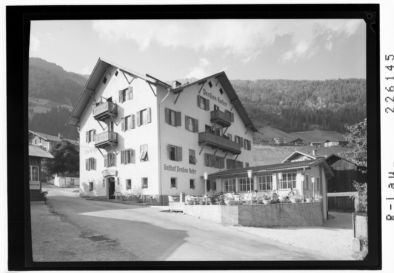 Gasthof Hofer in Neustift im Stubaital / Tirol von Wilhelm Stempfle