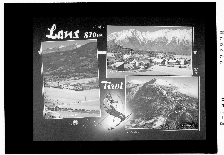 Lans 870 m / Tirol von Wilhelm Stempfle