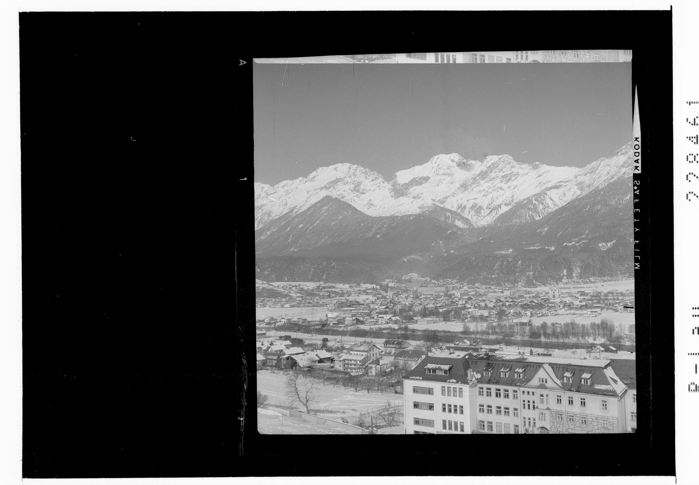 Telfs gegen Mieminger Gebirge / Tirol von Risch-Lau