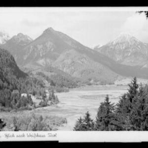 Füssen / Allgäu / Blick nach Weißhaus / Tirol von Kohlbauer