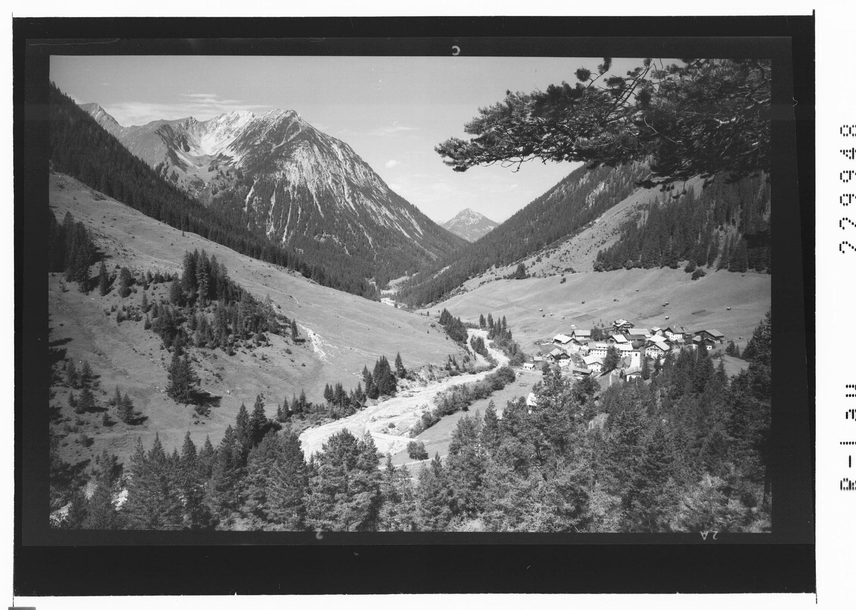 Namlos gegen Tauberspitze und Saldeinerspitze / Ausserfern / Tirol von Kohlbauer