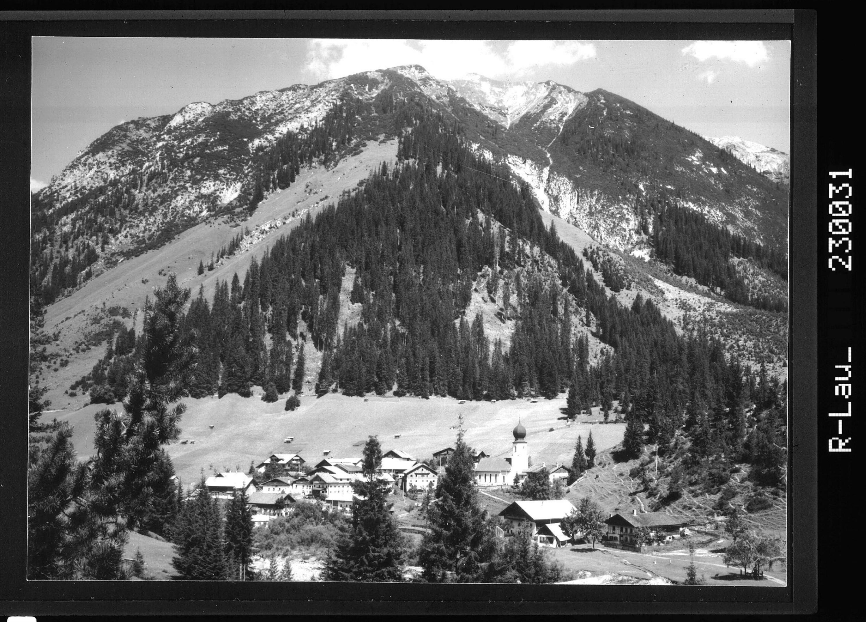 Namlos gegen Knittelkarspitze / Ausserfern / Tirol von Kohlbauer
