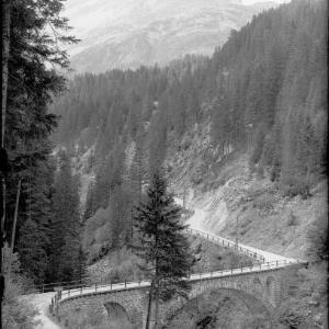 Lechtal / Blick zur Rappenspitze und Höllenspitze / Ausserfern / Tirol von Kohlbauer