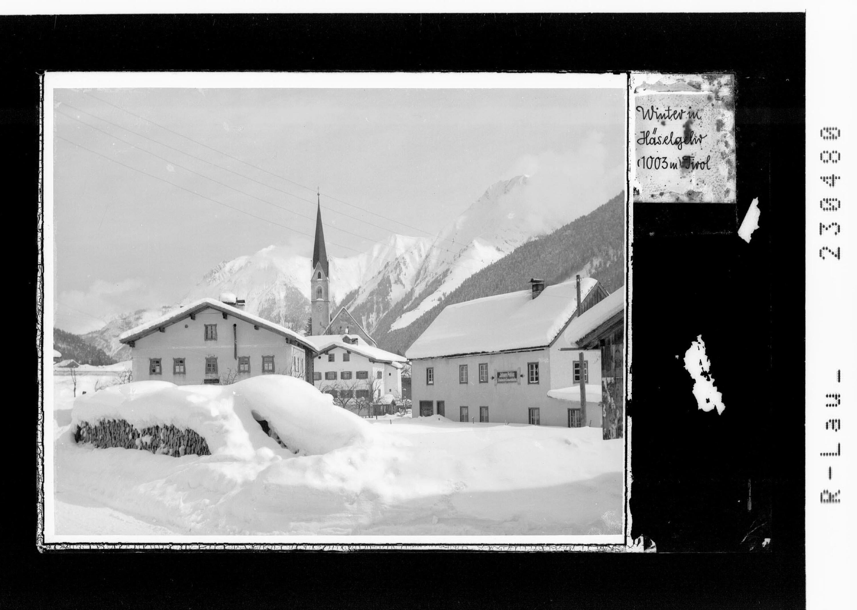 Winter in Häselgehr 1003 m / Tirol von Kohlbauer