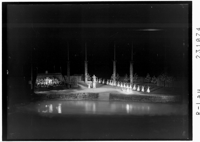 Bregenzer Festspiele 1958 / Ballett auf dem See - Giselle von Risch-Lau