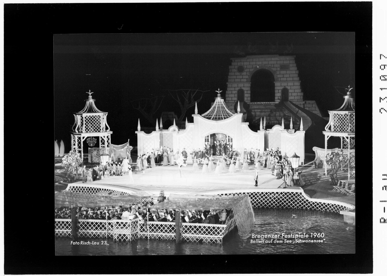 Bregenzer Festspiele 1960 / Ballett auf dem See - Schwanensee von Risch-Lau