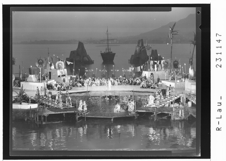 Bregenzer Festspiele 1962 / Spiel auf dem See - Trauminsel von Risch-Lau