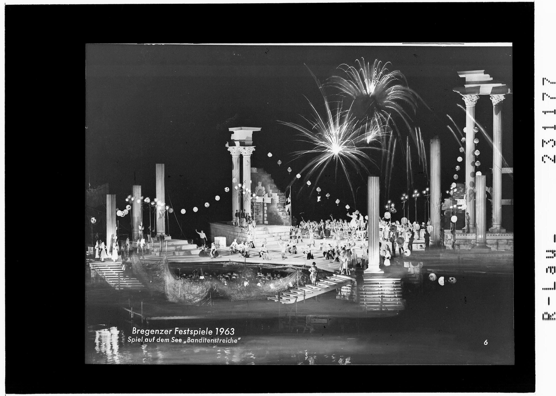 Bregenzer Festspiele 1963 / Spiel auf dem See - Banditenstreiche von Risch-Lau