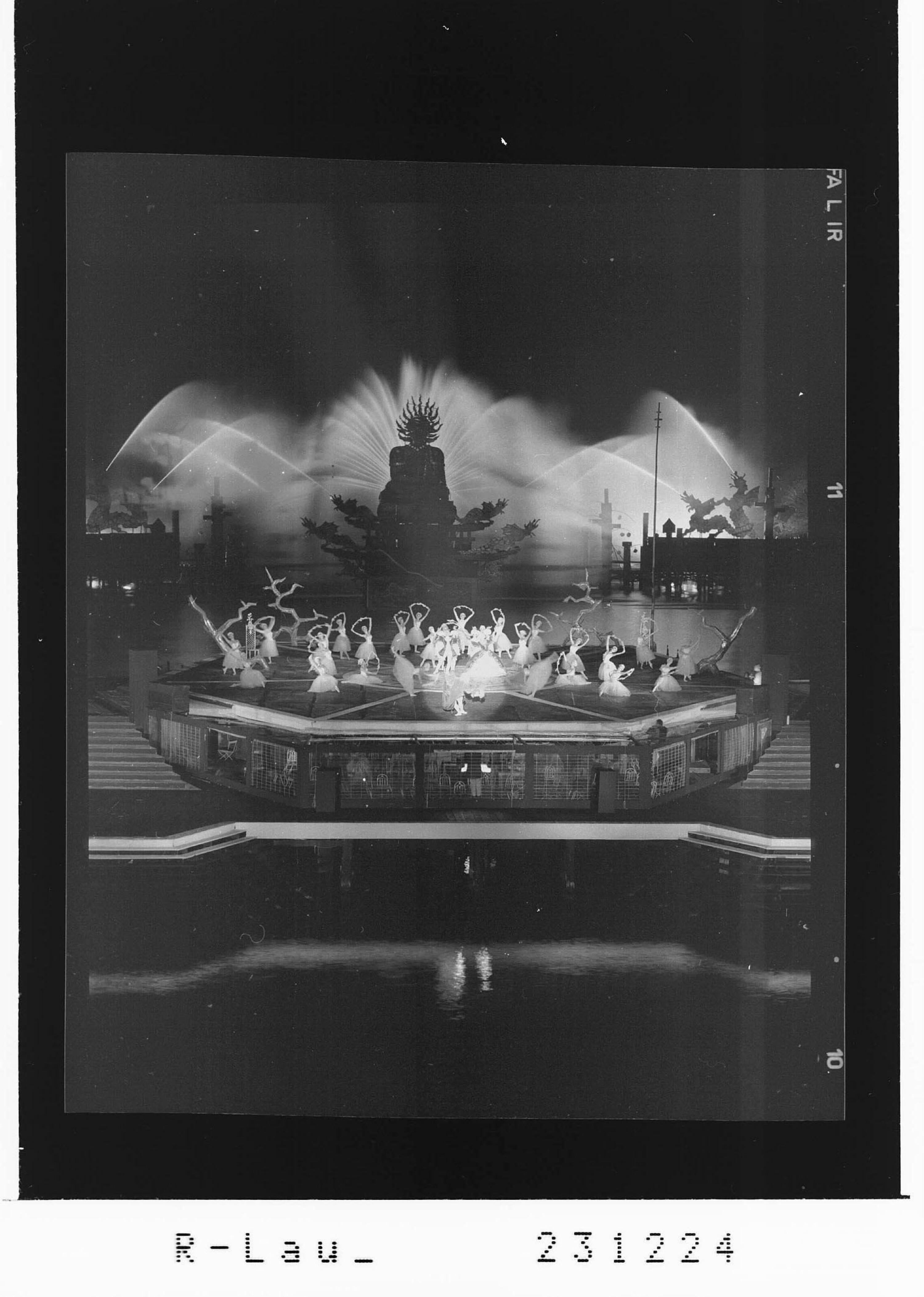 Bregenzer Festspiele 1964 / Ballett auf dem See - Dornröschen von Risch-Lau
