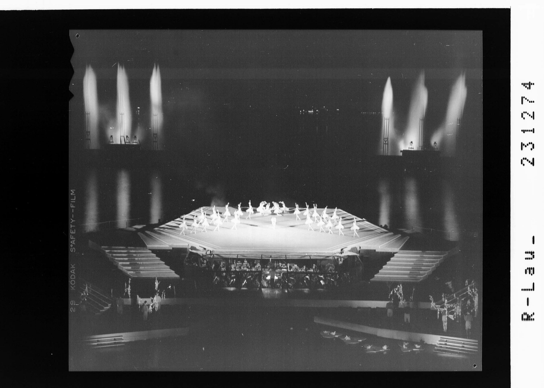 Bregenzer Festspiele 1966 / Ballett auf dem See - Schwanensee von Risch-Lau
