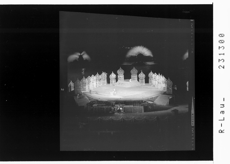 Bregenzer Festspiele 1967 / Ballett auf dem See - Scheherezade von Risch-Lau