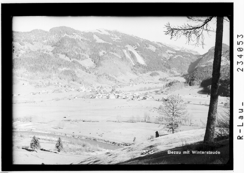Bezau mit Winterstaude von Rhomberg