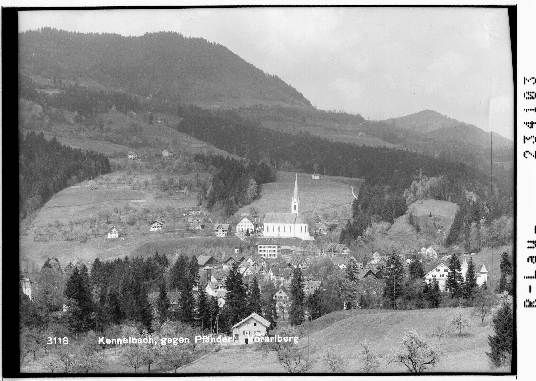 Kennelbach gegen Pfänder - Vorarlberg von Rhomberg