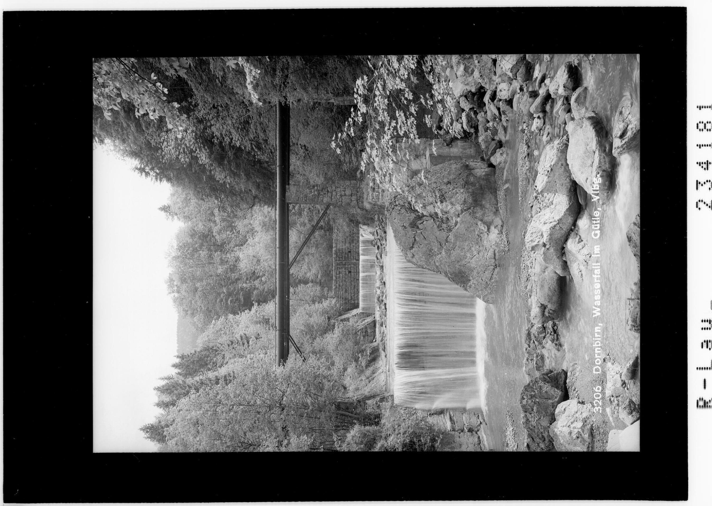 Dornbirn / Wasserfall im Gütle / Vorarlberg von Rhomberg