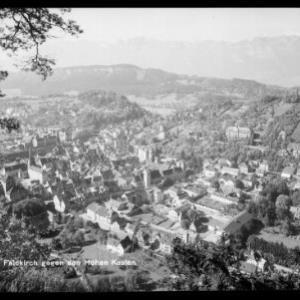 Feldkirch gegen Hohen Kasten von Rhomberg
